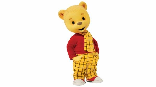 A picture of Rupert Bear, which used to be the emblem of the Rupert fund.